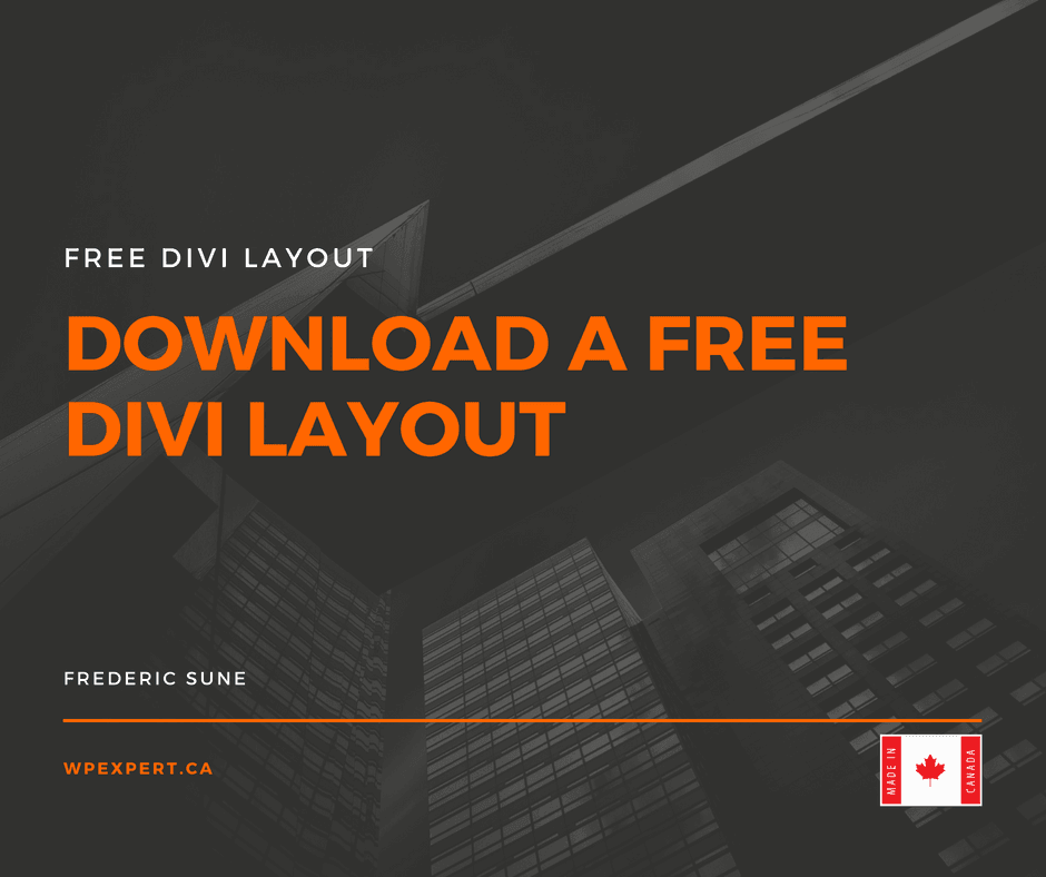 DIVI Free Layout - Music collection