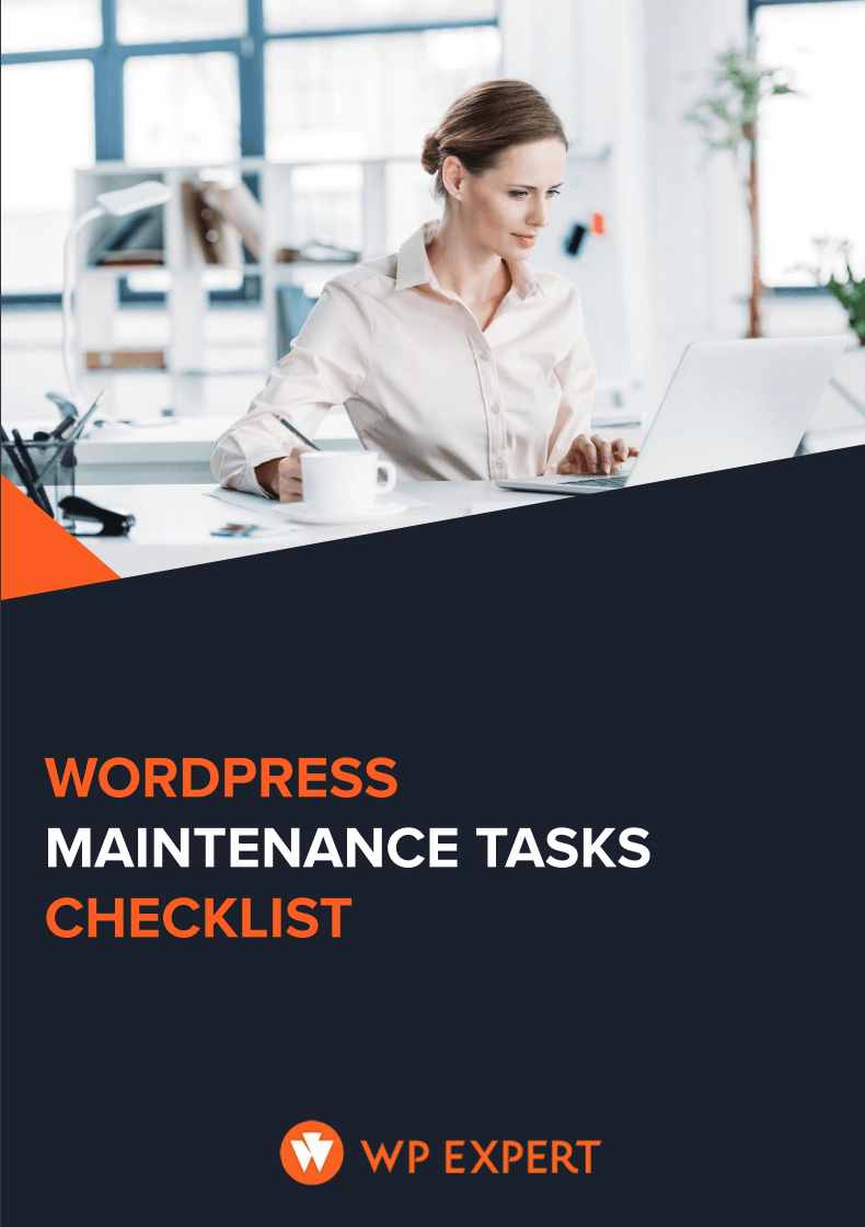 Maintenance Tasks Checklist - WP Expert