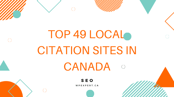 SEO_ Top 49 local citation sites in Canada
